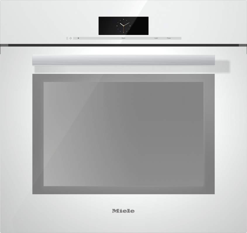 "30"" H 6880 BP brws Brilliant White PureLine M Touch Convection Oven"