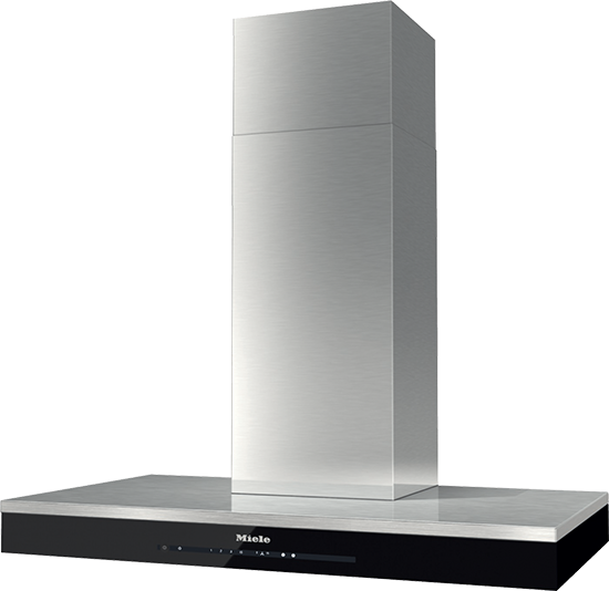"36"" DA6698 W Wall Hood, with Black Glass Band with Con@ctivity"
