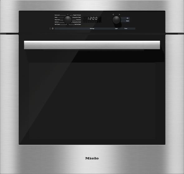 H 6180 BP 30 inch oven
