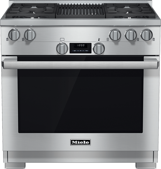 "36"" HR 1135 G All Gas EasyControl Range with Grill"