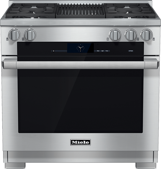 "36"" HR 1935 G Dual Fuel M Touch Range with Grill"