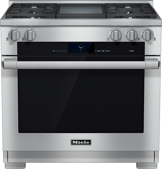 """36"""" HR 1936 G Dual Fuel M Touch Range with Griddle"""