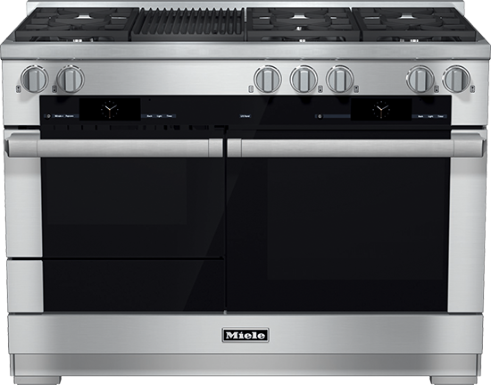 """48"""" HR 1955 G Dual Fuel M Touch Range with Grill"""
