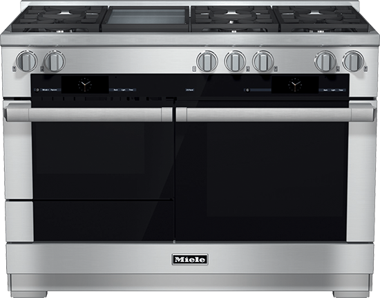 """48"""" HR 1956 G Dual Fuel M Touch Range with Griddle"""