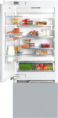 "30"" KF 1813 SF MasterCool Bottom Mount Fridge/Freezer"
