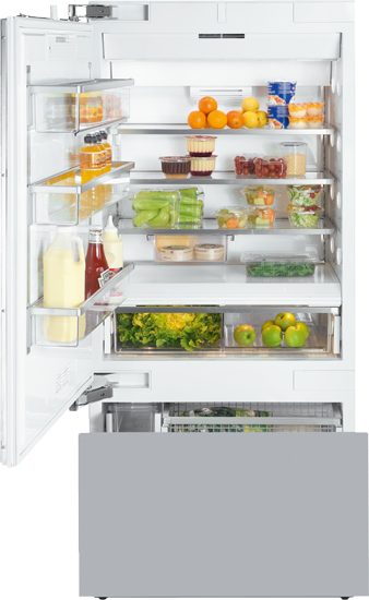 "36"" KF 1913 SF MasterCool Bottom Mount Fridge/Freezer"