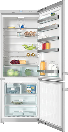 "KFN 15943 DE edt/cs 30"" Freestanding bottom mount fridge freezer"