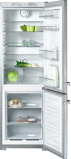 "KFN 12823 SD edt/cs-2 24"" Freestanding bottom mount fridge freezer"