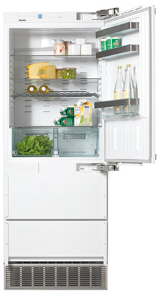 "30"" KFN 9855 i dE RE Built-In Bottom-Mount Fridge/Freezer"