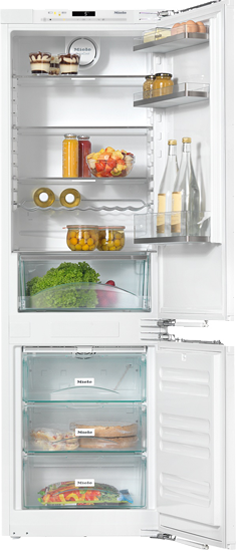 "24"" KFNS 37432 iD Built-In Bottom-Mount Fridge/Freezer"