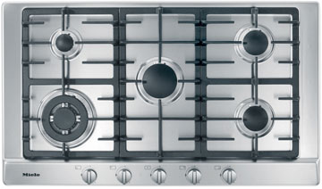 "36"" 5-Burner KM 2050 G Gas Cooktop"