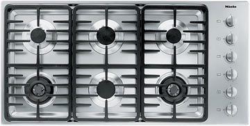 "42"" 6-Burner KM 3485 G Gas Cooktop"