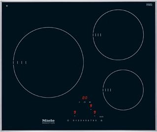 KM 6310 Induction cooktop with onset controls