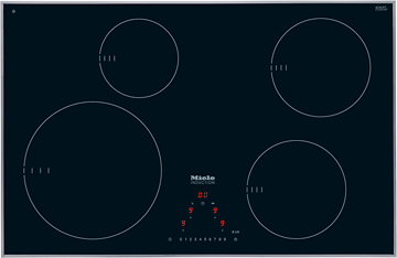 KM 6344 Induction cooktop with onset controls
