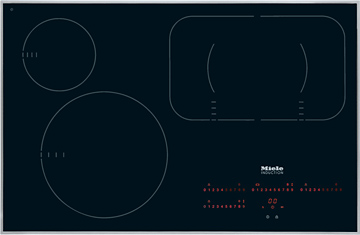 KM 6357 Induction cooktop with onset controls