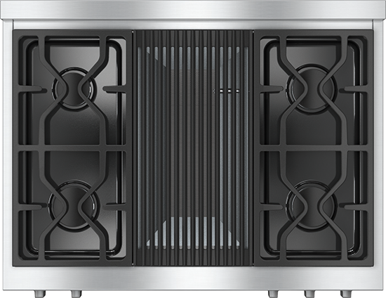 "36"" KMR 1135 Gas Rangetop with Grill"