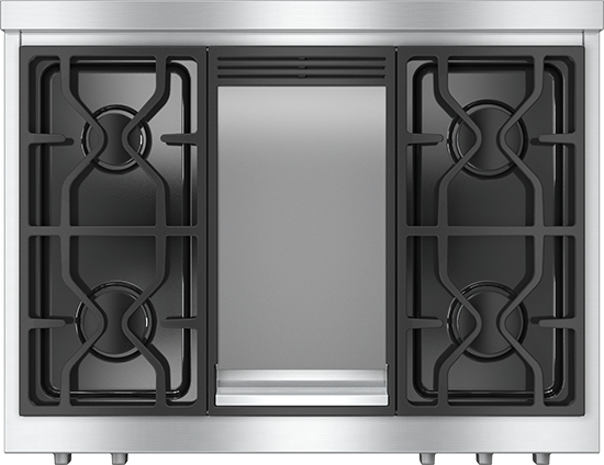 """36"""" KMR 1136 Gas Rangetop with Griddle"""