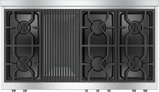 """48"""" KMR 1355 Gas Rangetop with Grill"""