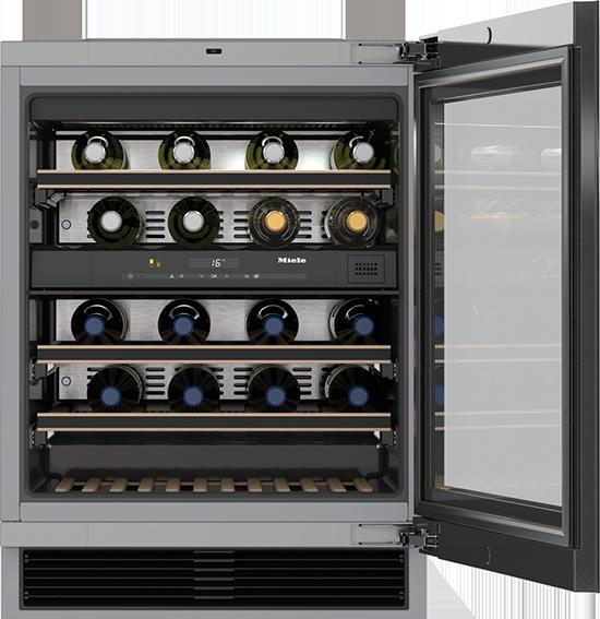 "24"" KWT 6322 UG Under-Counter Wine Storage System"