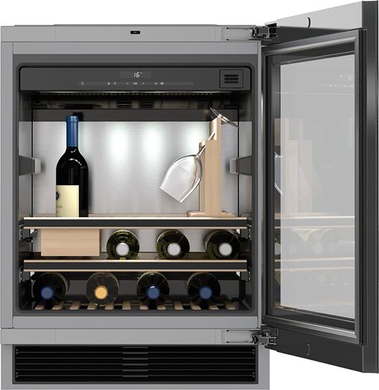 "24"" KWT 6312 UGS Under-counter wine fridge with Sommelier Set"