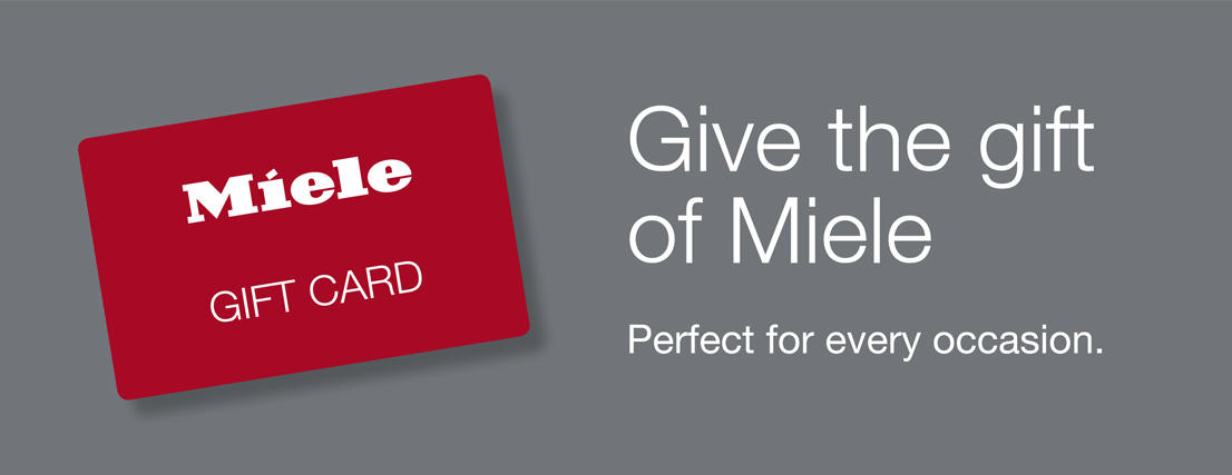 Give the gift of Miele.